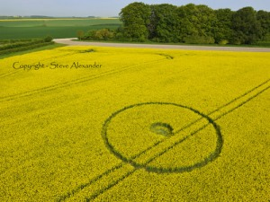 YarnBury Castle Crop Circle 3